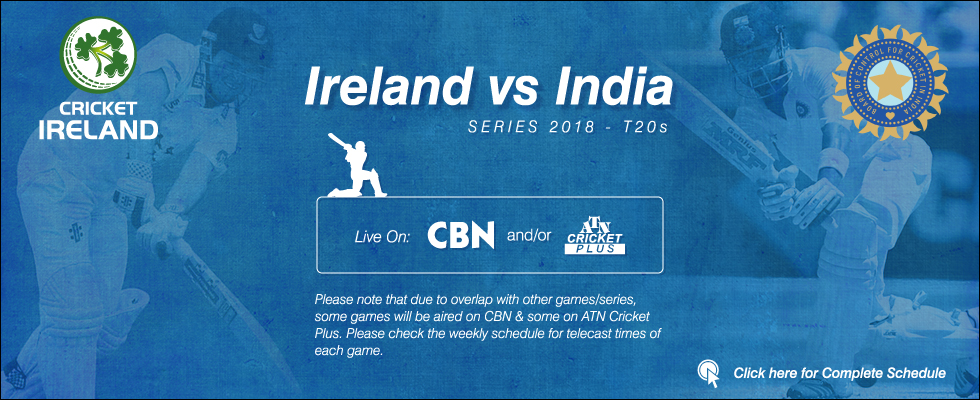 ireland vs india 2018 atn cricket plus