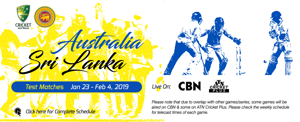 australia vs sri lanka 2019 atn cricket plus