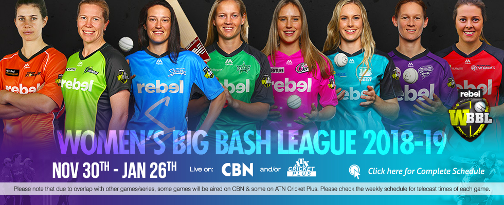 women's big bash league 2018-19 atn cricket plus