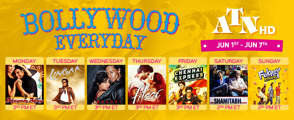 bollywood everyday atn hd jun 1 to jun 7